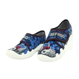 Befado obuwie dziecięce 273Y293 niebieskie 3
