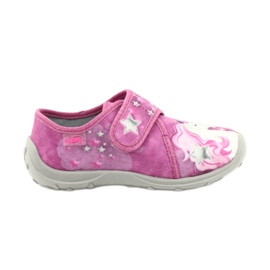 Befado obuwie dziecięce 560X118 różowe 1
