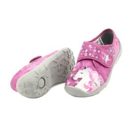 Befado obuwie dziecięce 560X118 różowe 4