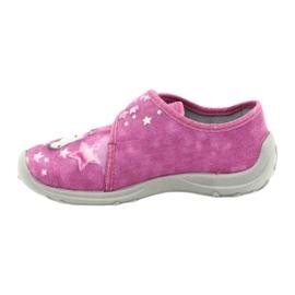 Befado obuwie dziecięce 560X118 różowe 2