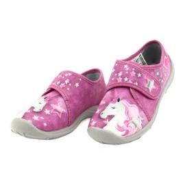 Befado obuwie dziecięce 560X118 różowe 3