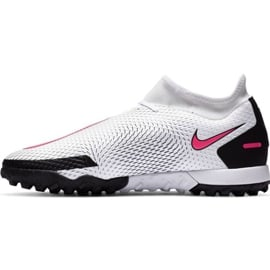 Buty piłkarskie Nike Phantom Gt Academy Df Tf M CW6666-160 białe wielokolorowe 1