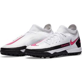 Buty piłkarskie Nike Phantom Gt Academy Df Tf M CW6666-160 białe wielokolorowe 2