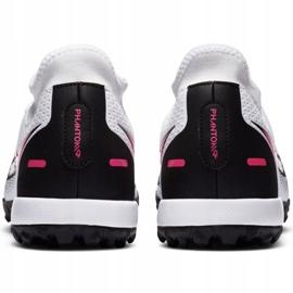 Buty piłkarskie Nike Phantom Gt Academy Df Tf M CW6666-160 białe wielokolorowe 3