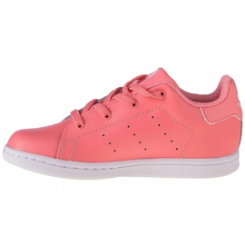 Buty adidas Stan Smith El K EF4928 różowe szare 1