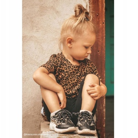 FRROCK Sportowe Buty Dziecięce Czarne Dante 6
