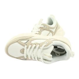 Buty sportowe Weiss Beige Big Star GG274657 beżowy białe ecru 5