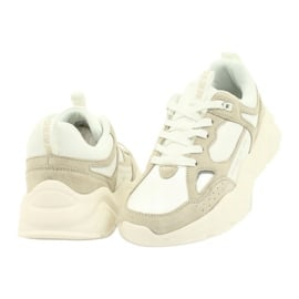 Buty sportowe Weiss Beige Big Star GG274657 beżowy białe ecru 4