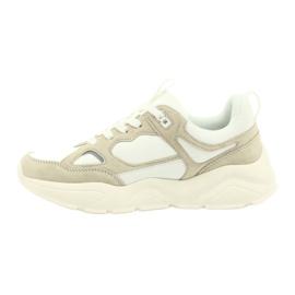 Buty sportowe Weiss Beige Big Star GG274657 beżowy białe ecru 3