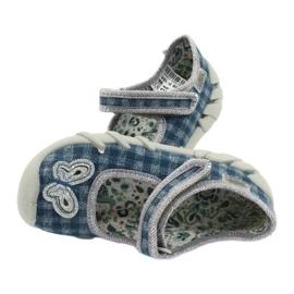 Befado obuwie dziecięce 109P188 niebieskie szare 5