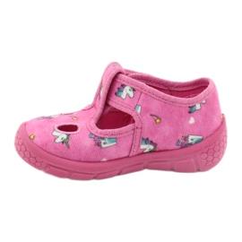 Befado  obuwie dziecięce 533P010 różowe 2