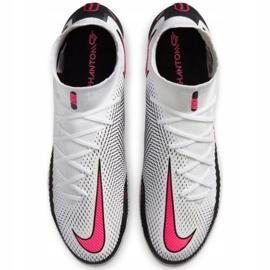 Buty piłkarskie Nike Phantom Gt Elite Df Fg M CW6589-160 białe wielokolorowe 2