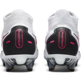 Buty piłkarskie Nike Phantom Gt Elite Df Fg M CW6589-160 białe wielokolorowe 4