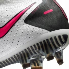Buty piłkarskie Nike Phantom Gt Elite Df Fg M CW6589-160 białe wielokolorowe 6