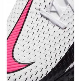 Buty piłkarskie Nike Phantom Gt Academy Tf Jr CK8484-160 białe wielokolorowe 2