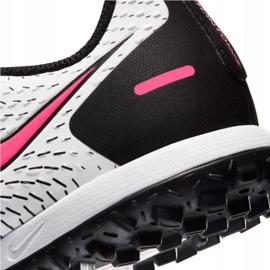 Buty piłkarskie Nike Phantom Gt Academy Tf Jr CK8484-160 białe wielokolorowe 3