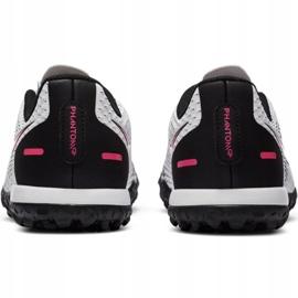 Buty piłkarskie Nike Phantom Gt Academy Tf Jr CK8484-160 białe wielokolorowe 6