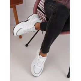 Buty sportowe damskie białe BH-001 White 3