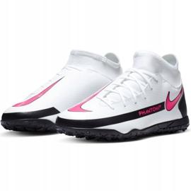 Buty piłkarskie Nike Phantom Gt Club Df Tf Jr CW6729-160 białe wielokolorowe 1