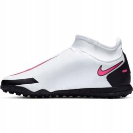 Buty piłkarskie Nike Phantom Gt Club Df Tf Jr CW6729-160 białe wielokolorowe 2