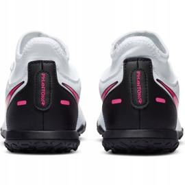 Buty piłkarskie Nike Phantom Gt Club Df Tf Jr CW6729-160 białe wielokolorowe 3