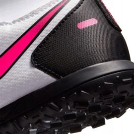 Buty piłkarskie Nike Phantom Gt Club Df Tf Jr CW6729-160 białe wielokolorowe 6