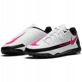 Buty piłkarskie Nike Phantom Gt Club Tf Jr CK8483-160 wielokolorowe białe 1