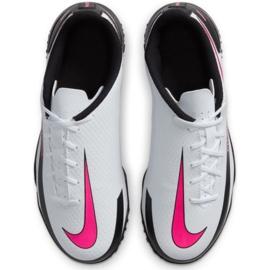 Buty piłkarskie Nike Phantom Gt Club Tf Jr CK8483-160 wielokolorowe białe 4