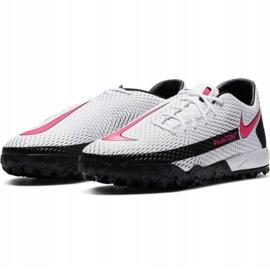 Buty piłkarskie Nike Phantom Gt Academy Tf M CK8470-160 białe wielokolorowe 1