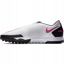 Buty piłkarskie Nike Phantom Gt Academy Tf M CK8470-160 białe wielokolorowe 2