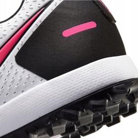Buty piłkarskie Nike Phantom Gt Academy Tf M CK8470-160 białe wielokolorowe 4