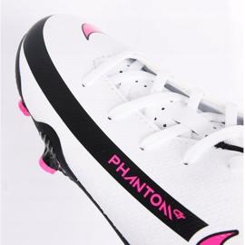 Buty piłkarskie Nike Phantom Gt Club FG/MG Jr DC9466-160 białe wielokolorowe 4