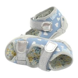 Befado obuwie dziecięce 242P101 niebieskie szare 5