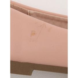 Baleriny damskie różowe YSD817 Nude Ii Gatunek 5