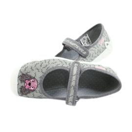 Befado obuwie dziecięce 114Y411 szare 5