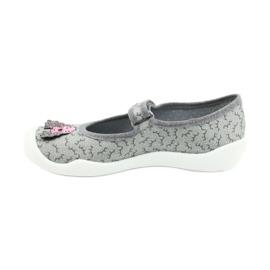 Befado obuwie dziecięce 114Y411 szare 2