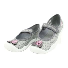 Befado obuwie dziecięce 114Y411 szare 3