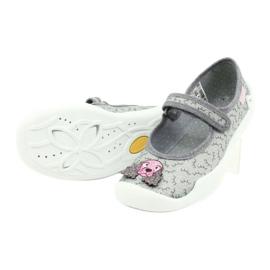 Befado obuwie dziecięce 114Y411 szare 4