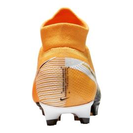 Buty piłkarskie Nike Superfly 7 Pro Fg M AT5382-801 wielokolorowe pomarańczowe 3