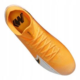 Buty piłkarskie Nike Superfly 7 Pro Fg M AT5382-801 wielokolorowe pomarańczowe 4