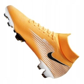 Buty piłkarskie Nike Superfly 7 Pro Fg M AT5382-801 wielokolorowe pomarańczowe 6
