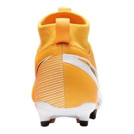 Buty piłkarskie Nike Superfly 7 Academy Mg Jr AT8120-801 wielokolorowe pomarańczowe 3