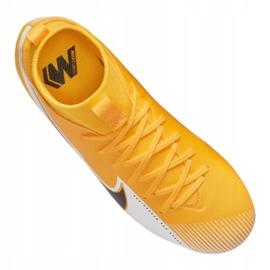 Buty piłkarskie Nike Superfly 7 Academy Mg Jr AT8120-801 wielokolorowe pomarańczowe 4