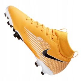 Buty piłkarskie Nike Superfly 7 Academy Mg Jr AT8120-801 wielokolorowe pomarańczowe 6