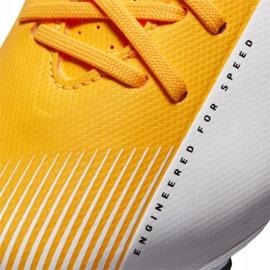 Buty piłkarskie Nike Vapor 13 Academy Mg Jr AT8123-801 żółte wielokolorowe 3