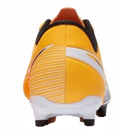 Buty piłkarskie Nike Vapor 13 Academy Mg Jr AT8123-801 żółte wielokolorowe 4
