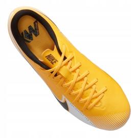 Buty piłkarskie Nike Vapor 13 Academy Mg Jr AT8123-801 żółte wielokolorowe 5