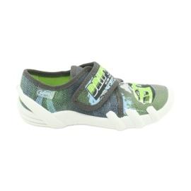 Befado obuwie dziecięce 273X288 szare zielone 1