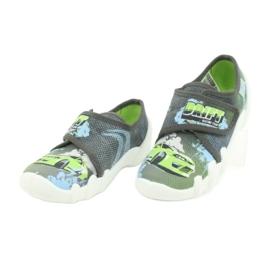 Befado obuwie dziecięce 273X288 szare zielone 3