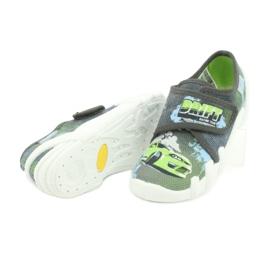 Befado obuwie dziecięce 273X288 szare zielone 4